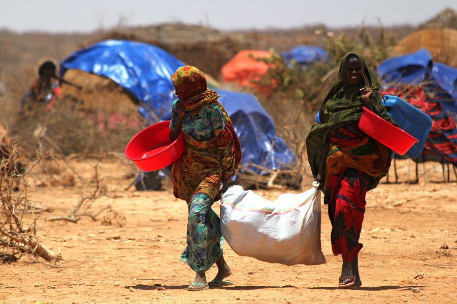 Support of Somali refugees