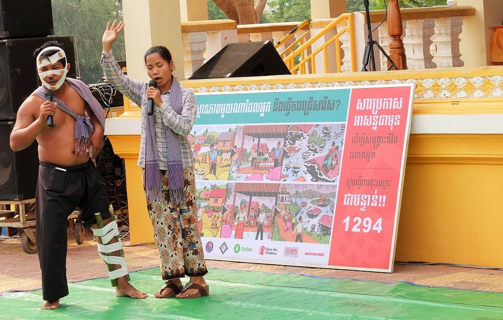 Building Disaster Resilient Communities in Cambodia