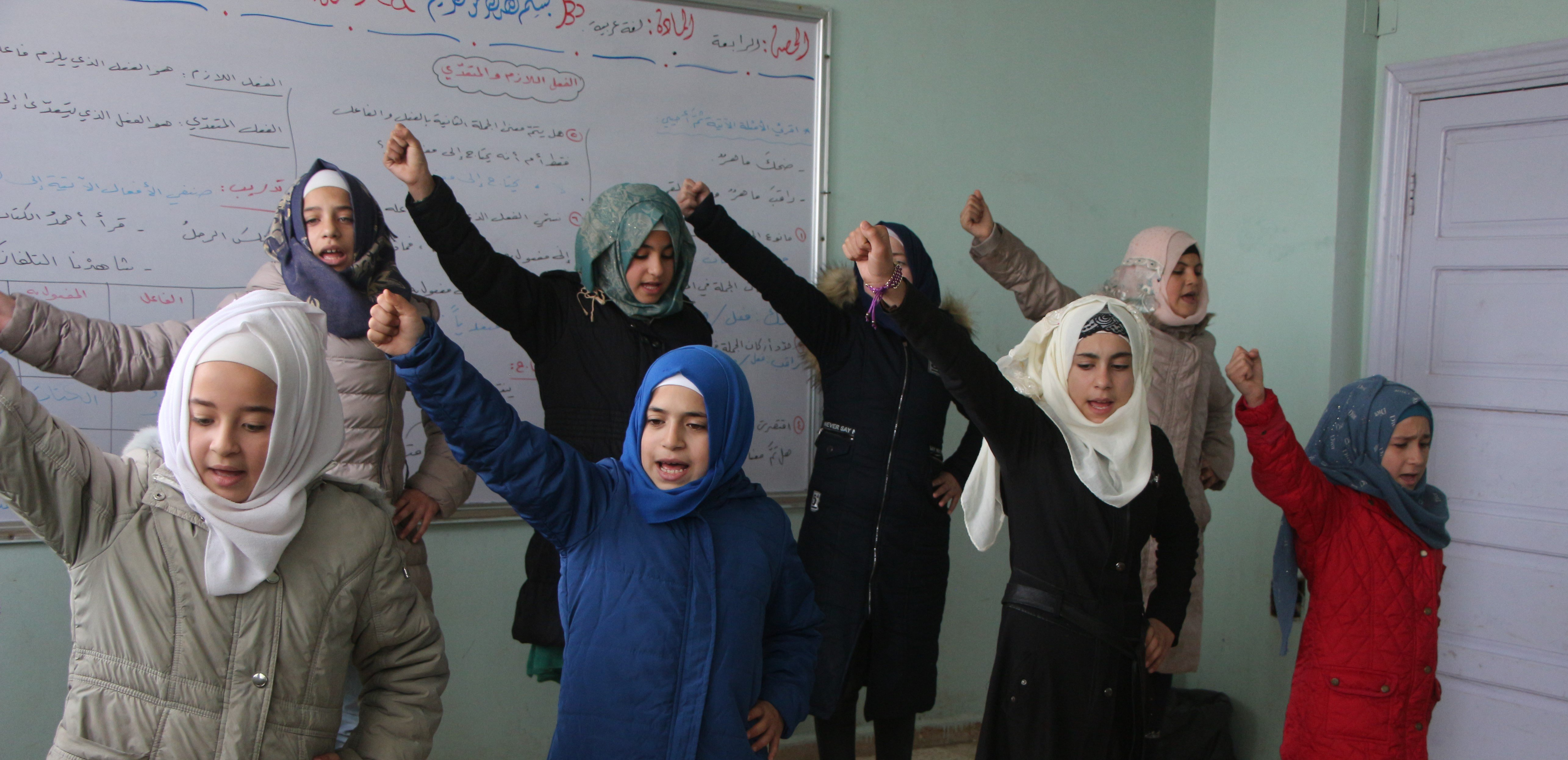 Using education, rhymes, and rhythms to cope with an endless war