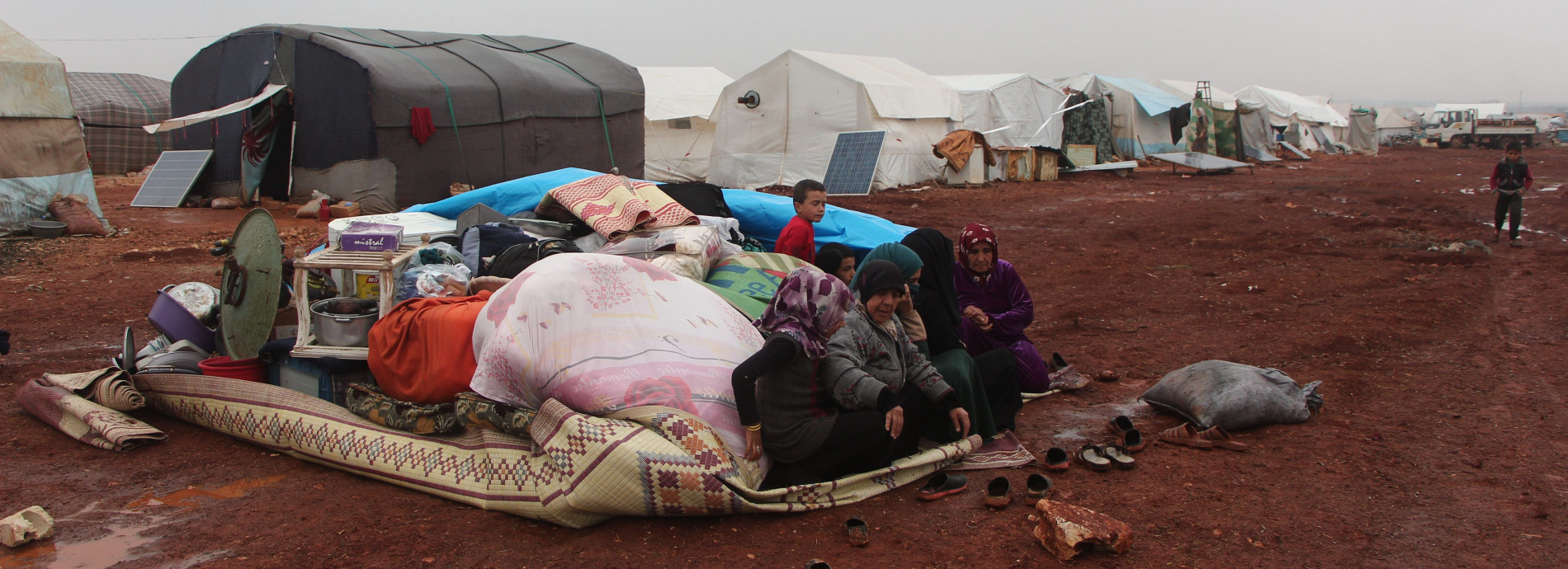 Hundreds of thousands in northwest Syria caught in humanitarian catastrophe